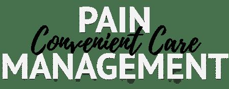 Convenient Care for Pain Management Title Image